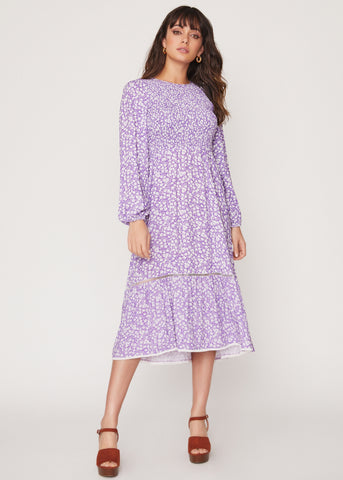 Vineyards In The Valley Midi Dress
