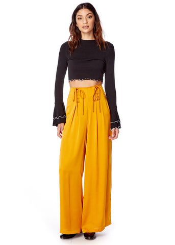 Dawn Lace Up Pants
