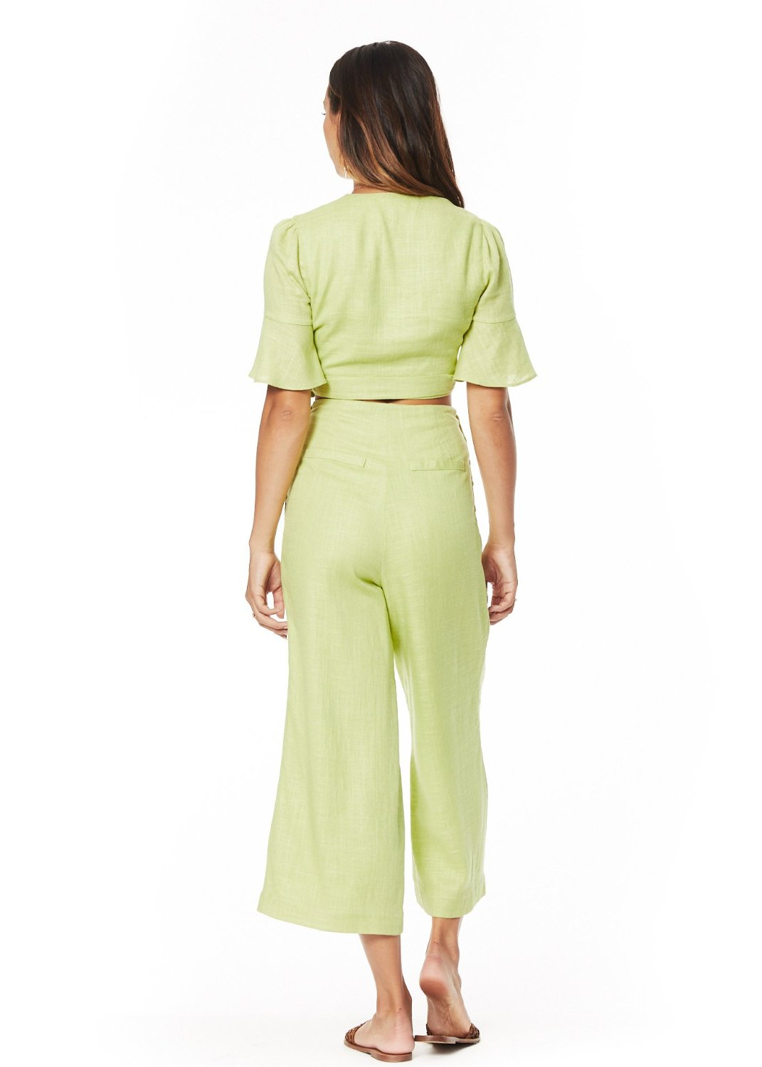 Cactus Bloom Wide Pants
