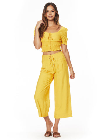 Yellow Submarine Wide Pants
