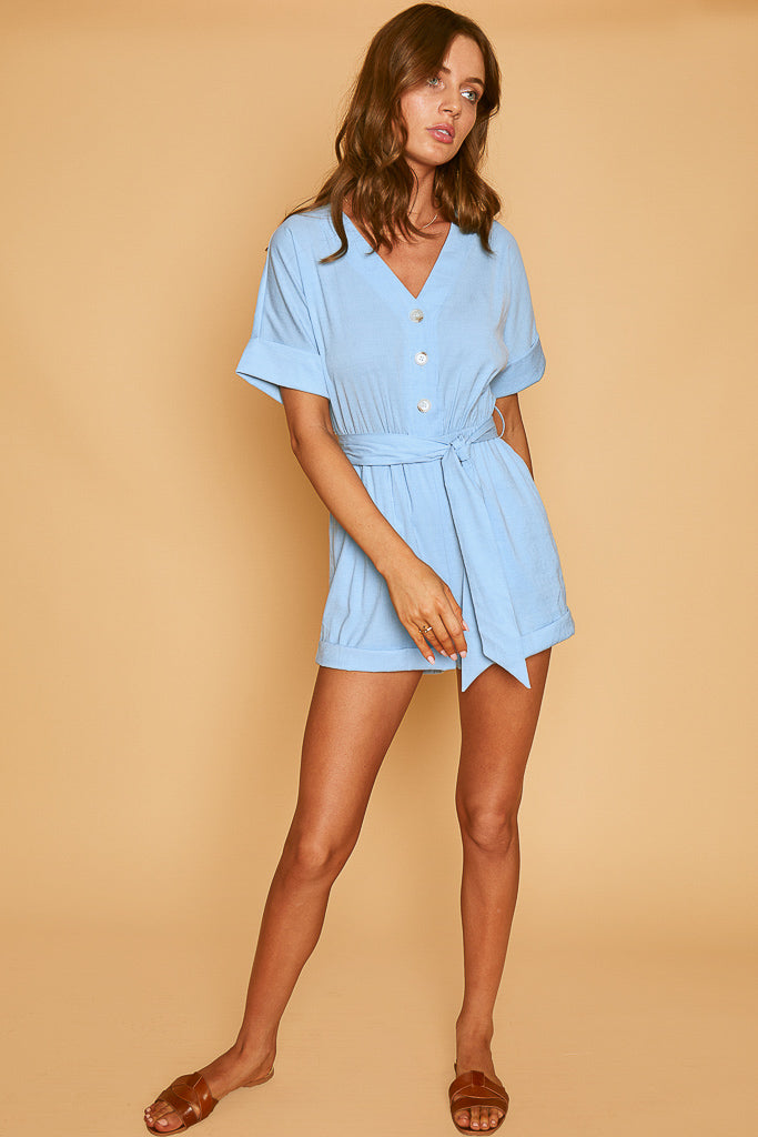 Let It Rain Romper