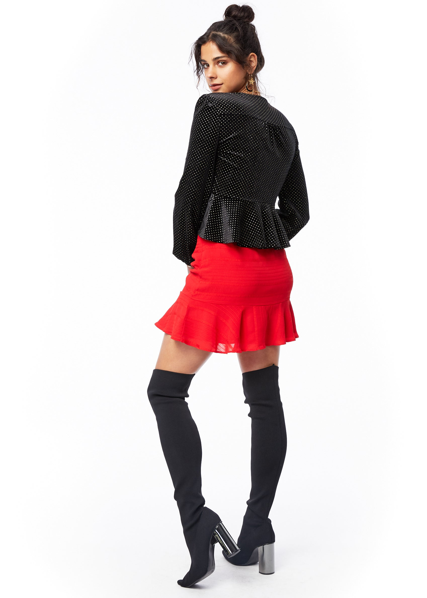 Scorpion Ruffle Skirt