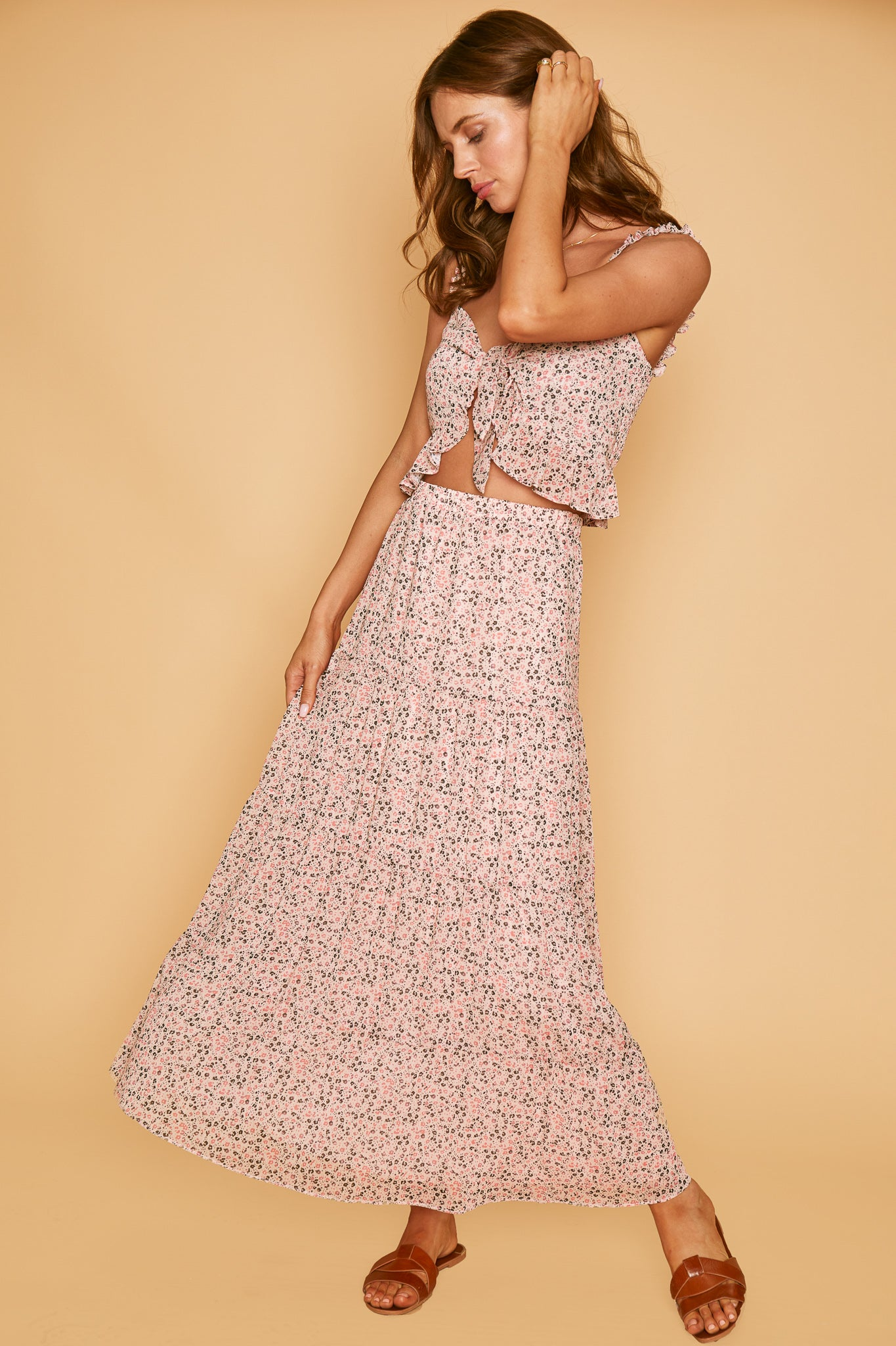 Floral Fairy Long Skirt