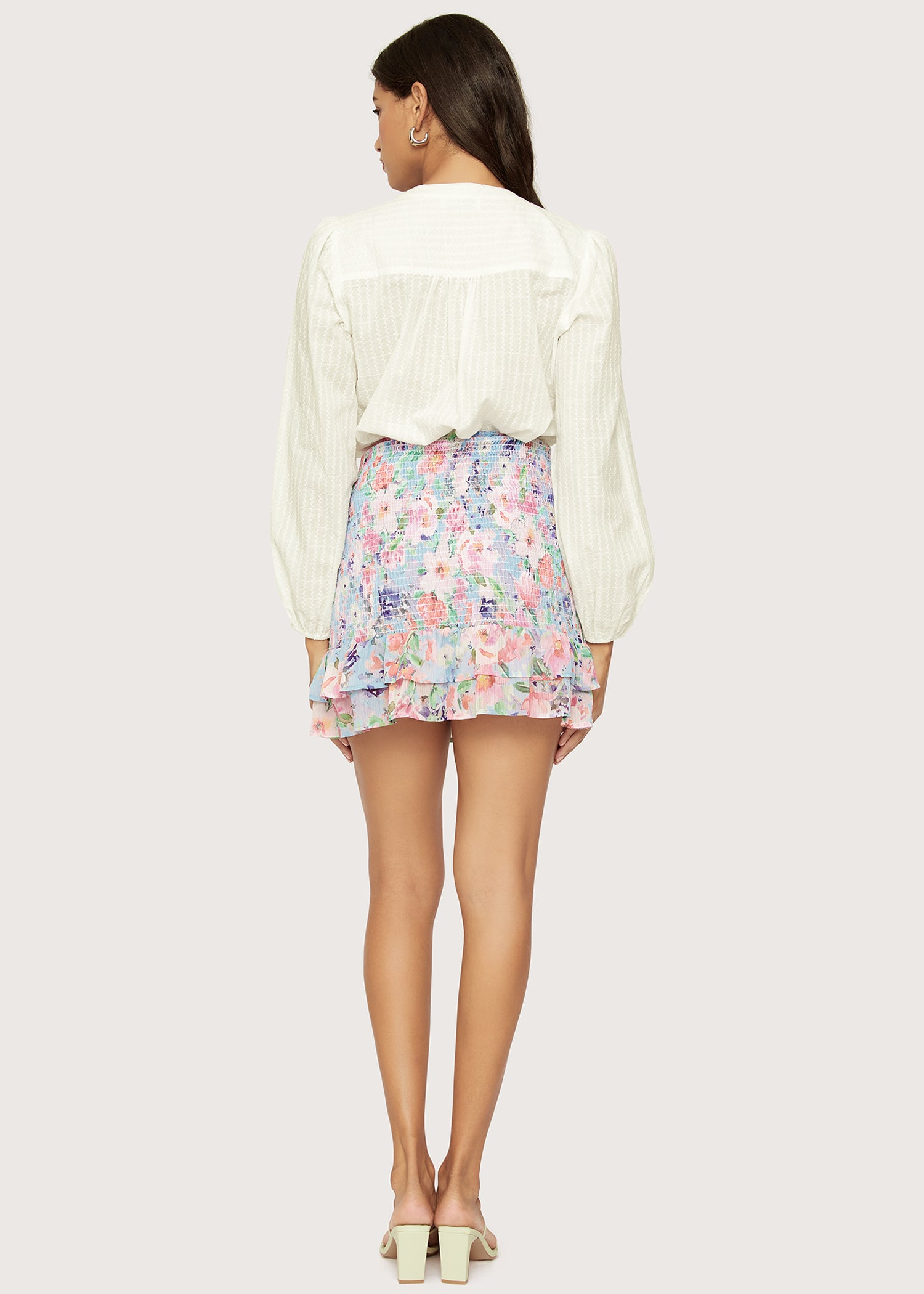 Monet's Garden Mini Skirt