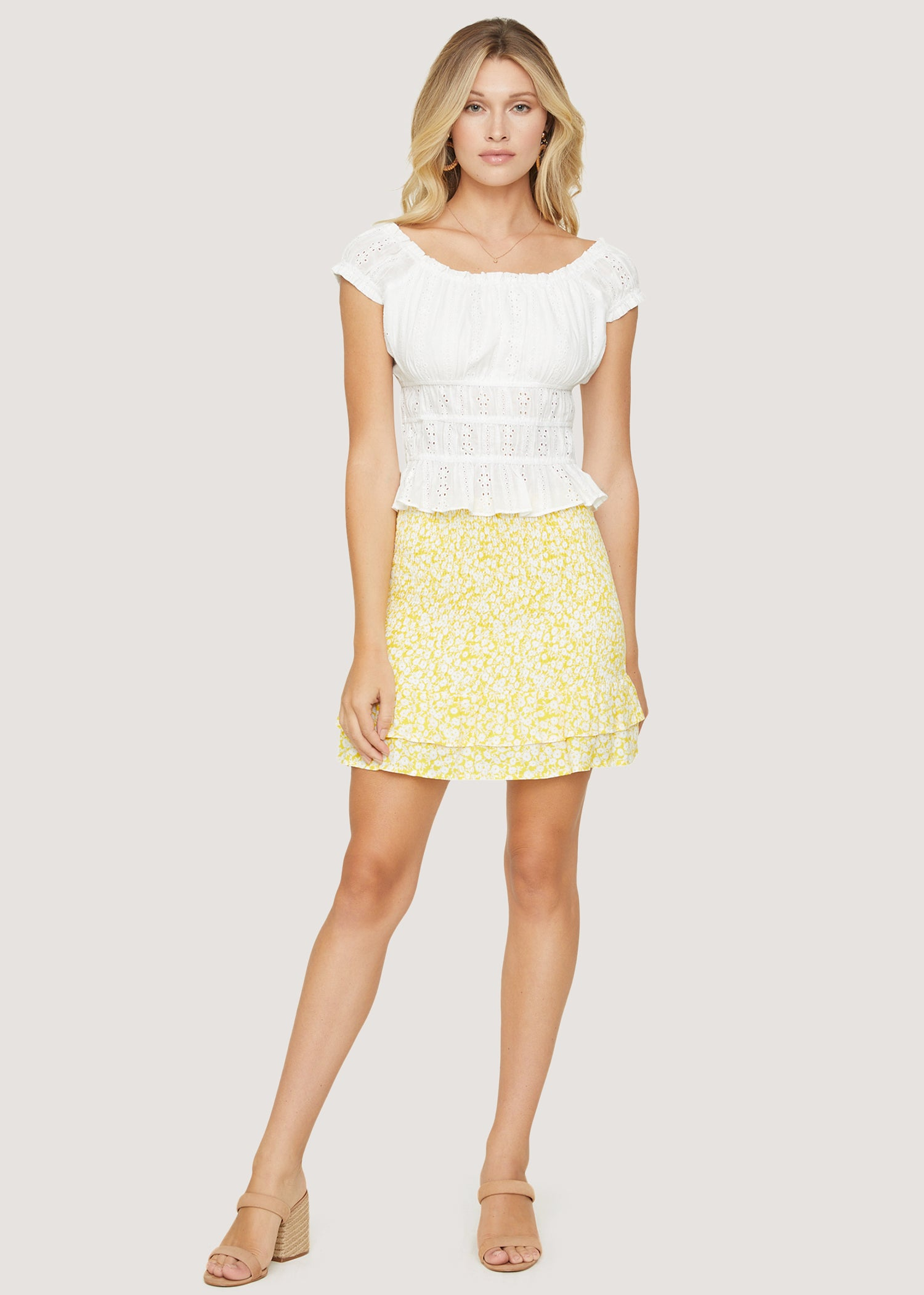 Sweet Summer Daze Mini Skirt