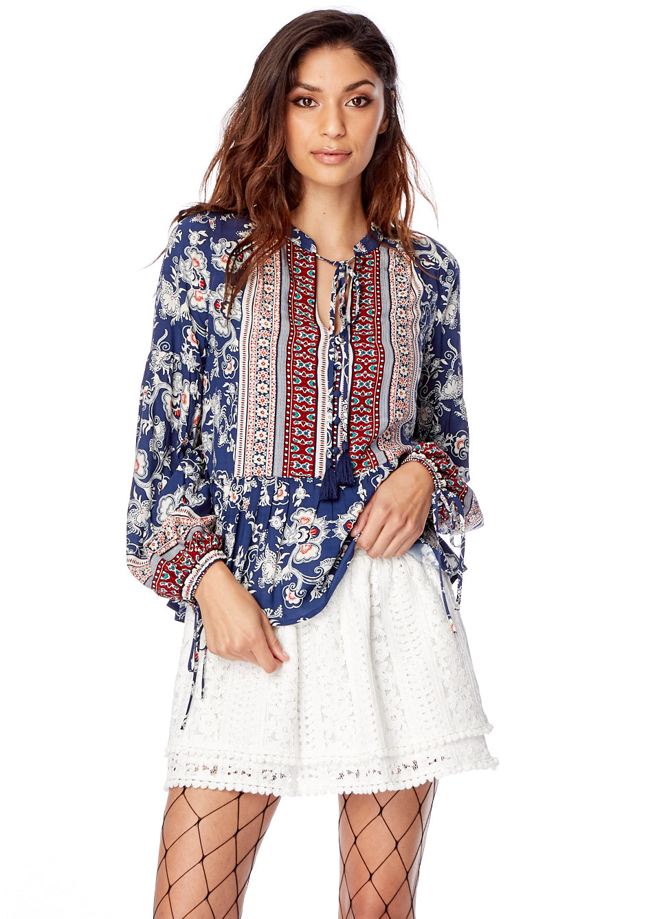 Indigo Muse Top