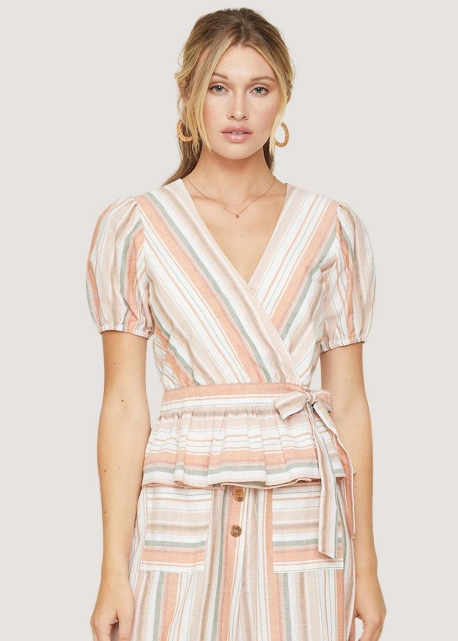 Skyline View Wrap Top