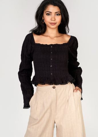 Aria Long Sleeve Top