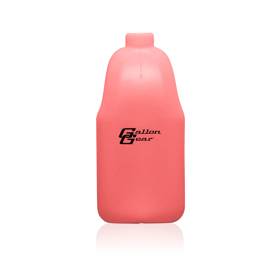 Pink Transparent 1/2 Gallon Bottle