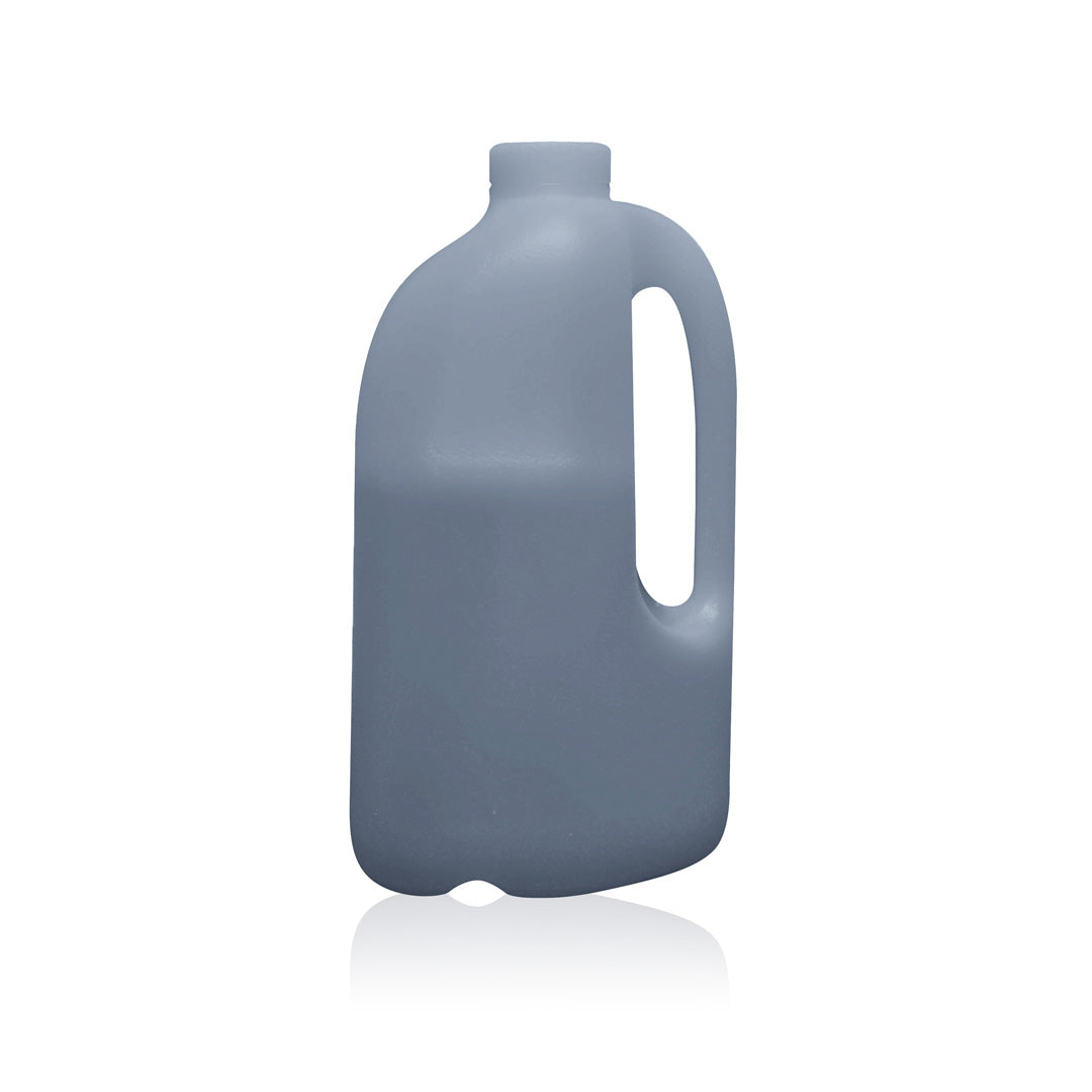 Charcoal Transparent 1/2 Gallon Bottle
