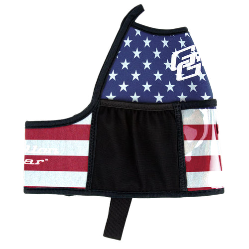 American Flag Double Pocket Gallon Gear Fitness Hydration Cover