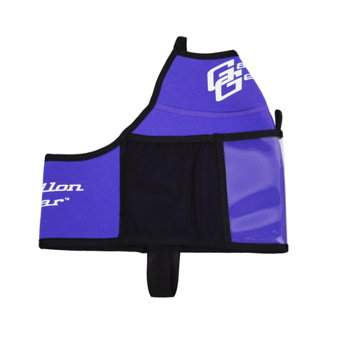 Purple Floral Gallon Gear Fitness Hydration Cover