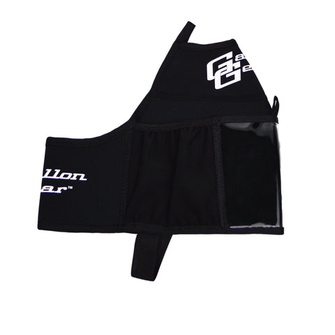 Black with Black logo Gallon Gear Fitness Hydration Cover