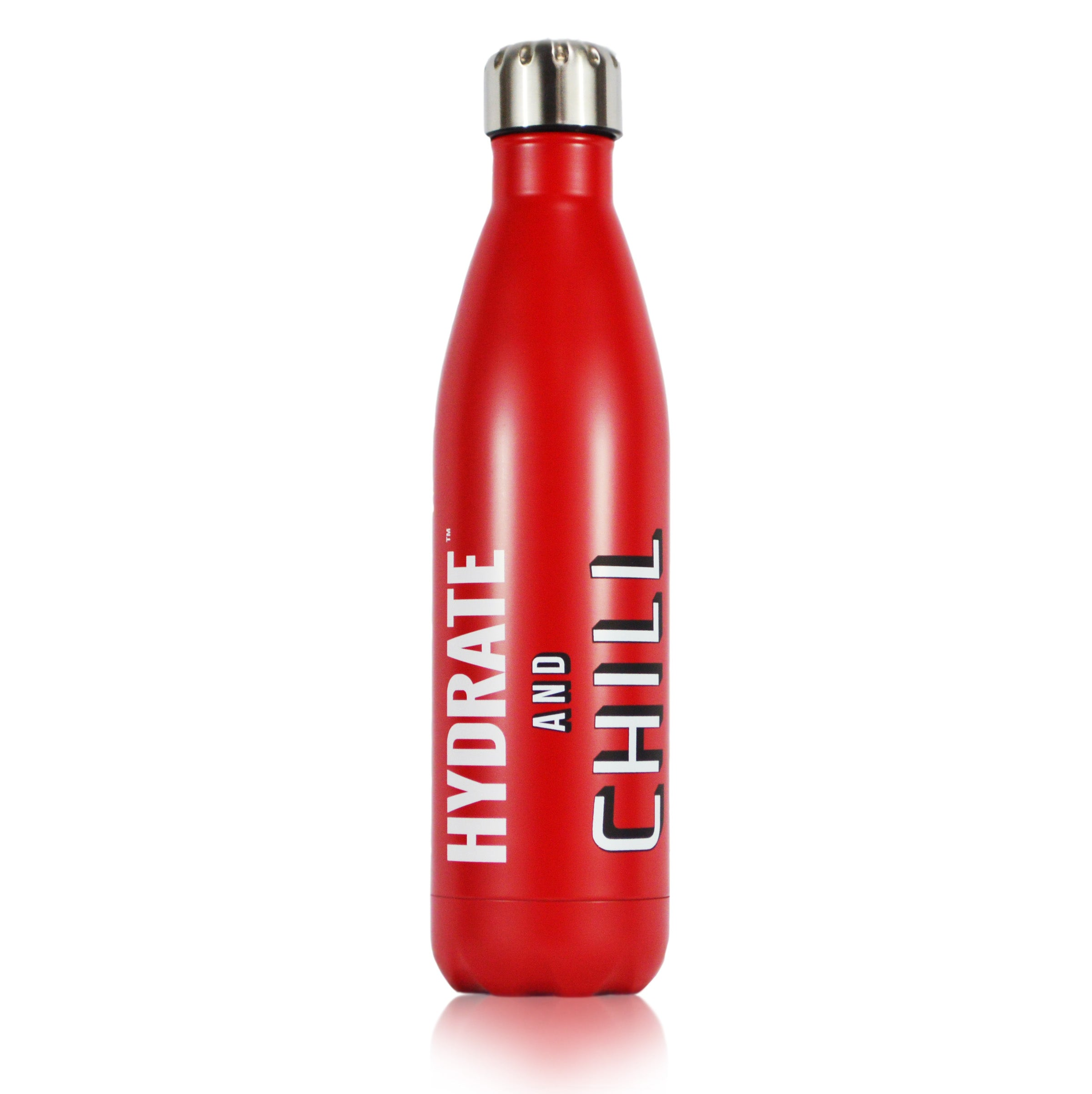 RED HYDRATE and CHILL 25 oz Vacuum Bottle