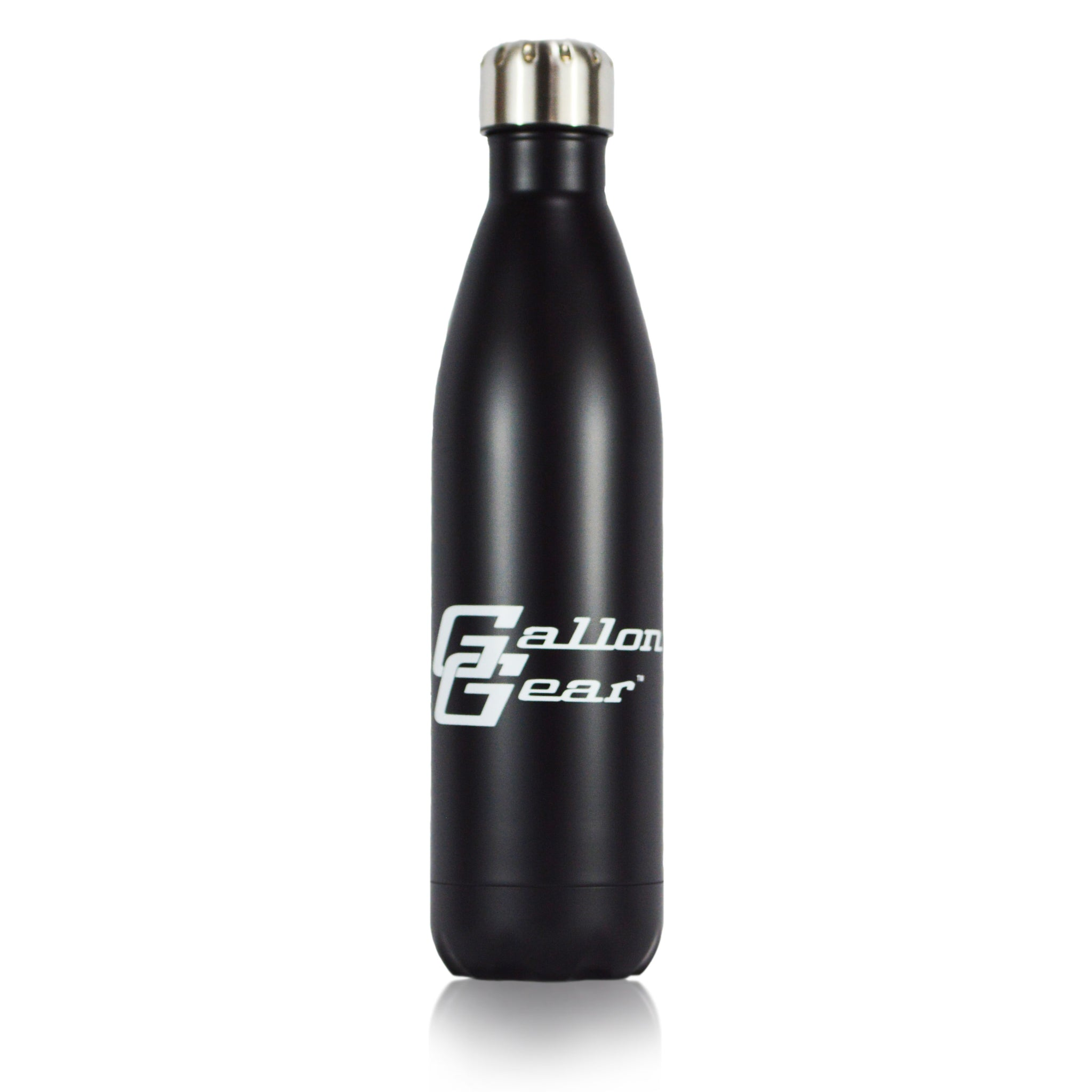 Black EAT LIFT HYDRATE REPEAT 25 oz Vacuum Bottle