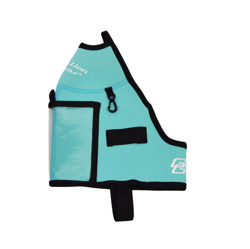 Aqua Blue Half Gallon Gear Fitness Hydration Cover