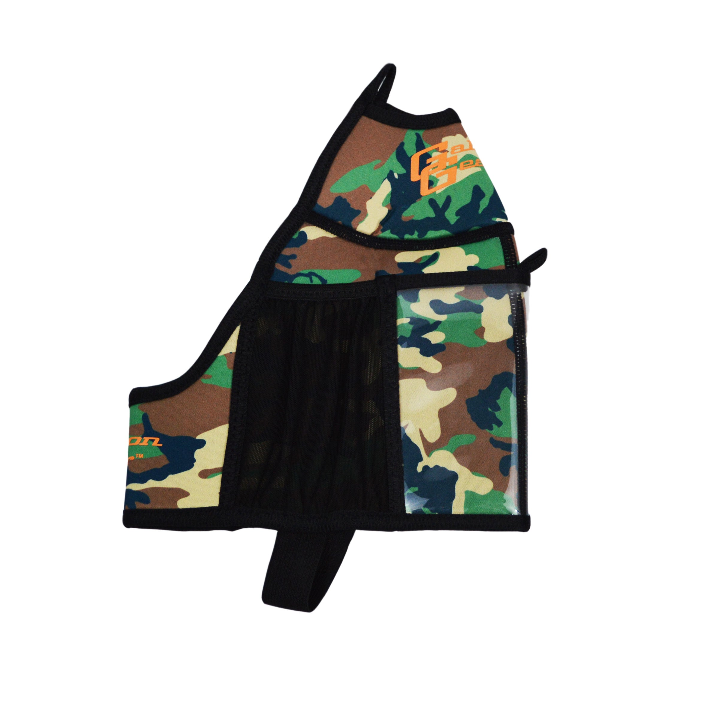 Green Camo Half Gallon Gear Fitness Hydration Cover