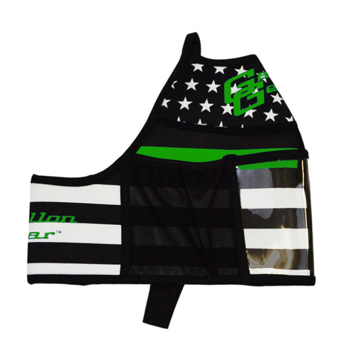 Thin Green Line Gallon Gear Fitness Hydration Cover