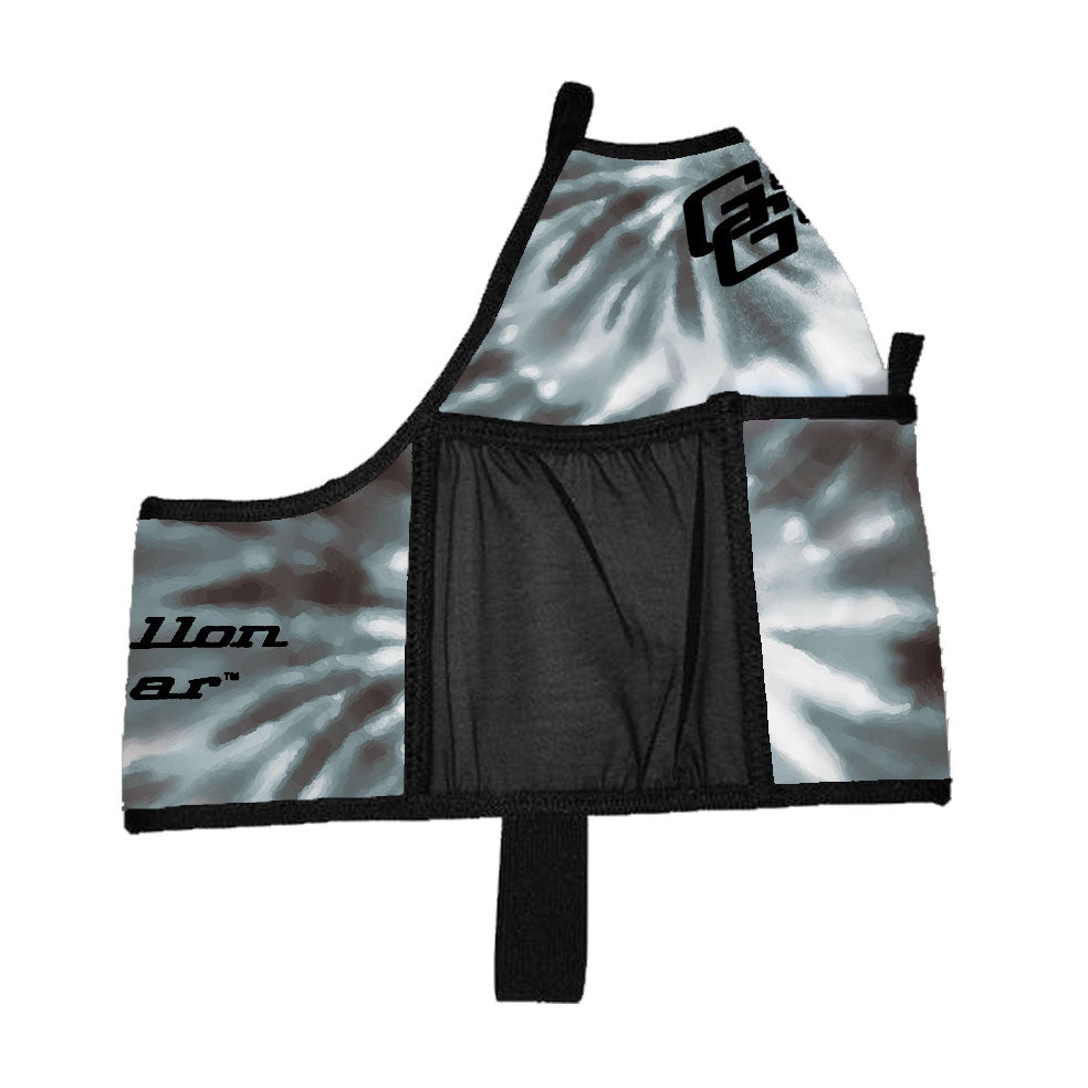 Black Tye Dye Double Pocket Gallon Gear Fitness Hydration Cover