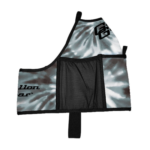 Cass Martin Leopard Funk Print Double Pocket Gallon Gear Fitness Hydration Cover