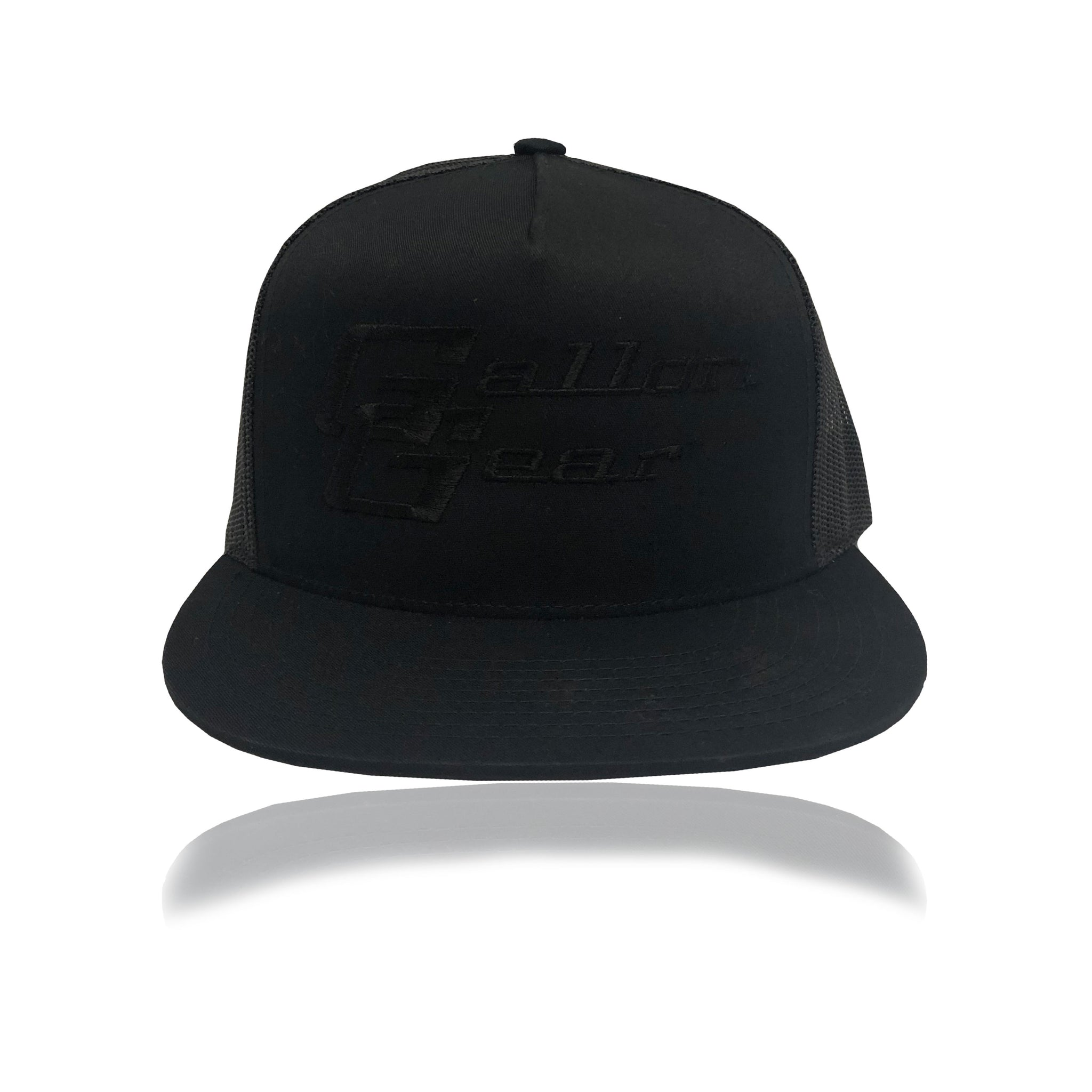 Black/ Black Mesh with Black Logo