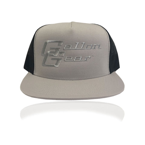 Grey/ Black Mesh with Black Logo