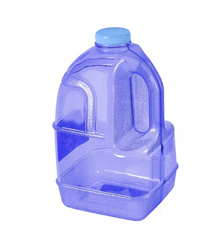 Gallon Gear Green Transparent Gallon Bottle