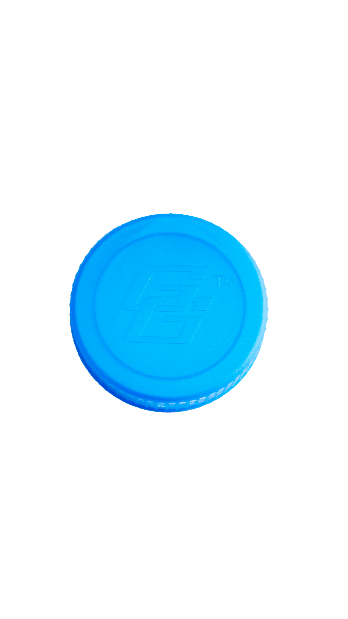 Transparent Blue Gallon Lid