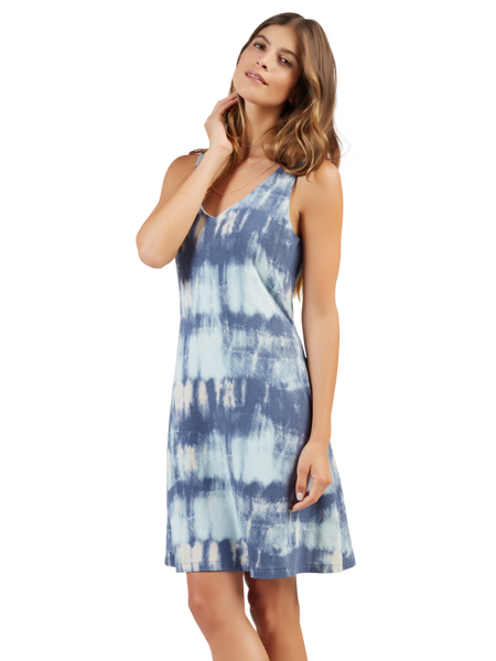 Abstract Watercolor Dress