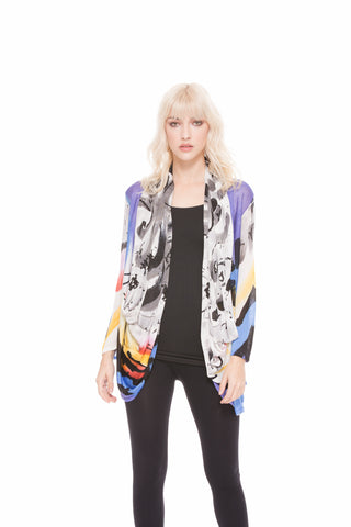 Abstract Painted Multi Top