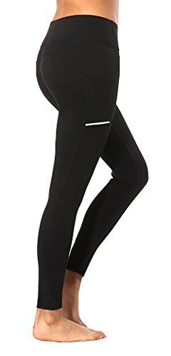 Women's Workout Exercise Pants: High Waisted with Pockets - Monday Monday