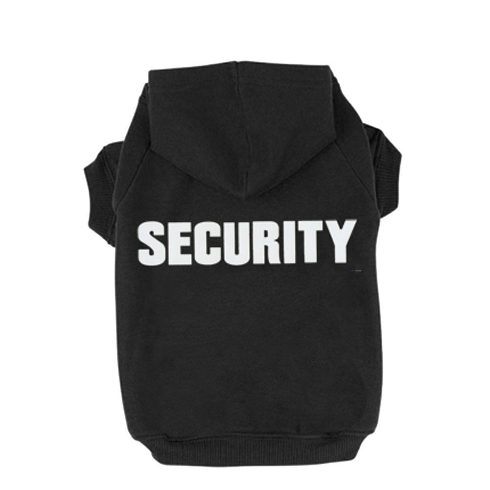 Dog SECURITY Hoodie - Monday Monday