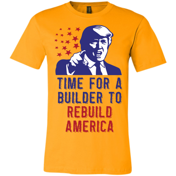 Rebuild America - Short-Sleeve T-Shirt - Monday Monday
