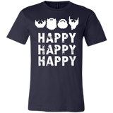 Happy Happy Happy - Short-Sleeve T-Shirt