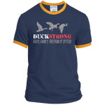 Duck Strong - Ringer Tee - Monday Monday