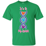 DNA - Custom Ultra Cotton T-Shirt - Monday Monday
