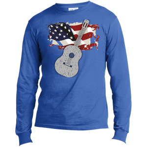American Guitar - Long Sleeve T-Shirt - Monday Monday