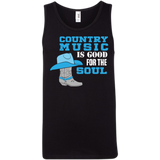 Country Music Is Good For The Soul - Tank Top