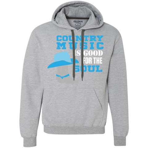 Country Music Is Good For The Soul - Pullover Fleece Sweatshirt