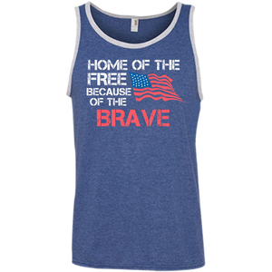 Home of The Free - Tank Top - Monday Monday