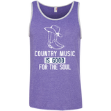 Country Good For Soul White - Tank Top