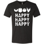 Happy Happy Happy - Men's Tri-Blend Tee - Monday Monday