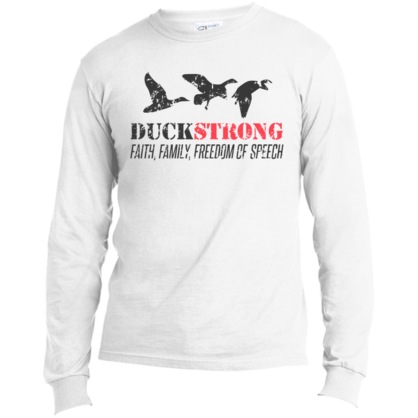 Duck Strong Dark - Long Sleeve T-Shirt - Monday Monday