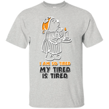 Pooh Tired - Custom Ultra Cotton T-Shirt