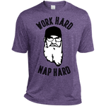 Work Hard Nap Hard - Dri-Fit Tee for Him - Monday Monday