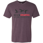 Duck Strong Dark - Men's Tri-Blend Tee - Monday Monday