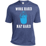Heather Dri-Fit Moisture-Wicking Tee for Him - Monday Monday