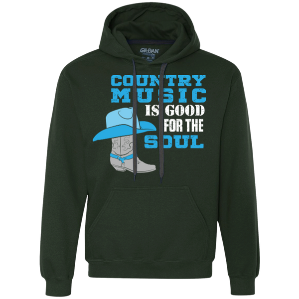 Country Music Is Good For The Soul - Pullover Fleece Sweatshirt - Monday Monday