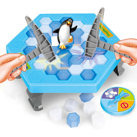 Break The Ice Penguin Game