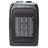Energy Save Personal Ceramic Space Heater, Black